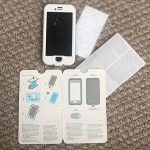 NEW Lifeproof Apple NUUD iPhone 8 case Snowcapped